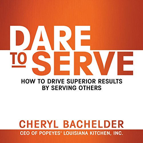 Dare to Serve audiobook cover art