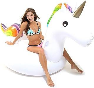 Hinchable Unicornio, Flotador de Unicornio Gigante Inflable