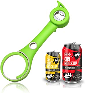 Bottle opener, 5-in-1 multi-function kitchen bottle opener