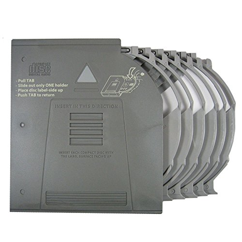 Genuine LAND ROVER Clarion CD Changer Magazine Holder Cartridge for 6 Discs Compatible with LAND ROVER Range Rover L322 Full Size VIN (V) BA335792> 2006-2012 Model Part LR025951