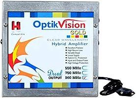 optik vision gold Hybrid Amplifier 860 MHz CATV