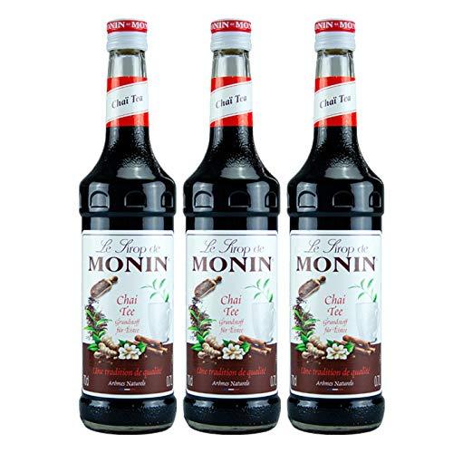 Monin Chai-Tee Teekonzentrat, 0,7L 3er Pack