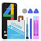 Google Pixel 2 Battery, 3000mAh Upgraded Google Pixel 2 Replacement Battery Li-Polymer Internal Battery for HTC Google Pixel 2 (5.0'') G011A-B with Repair Replacement Tool Kits