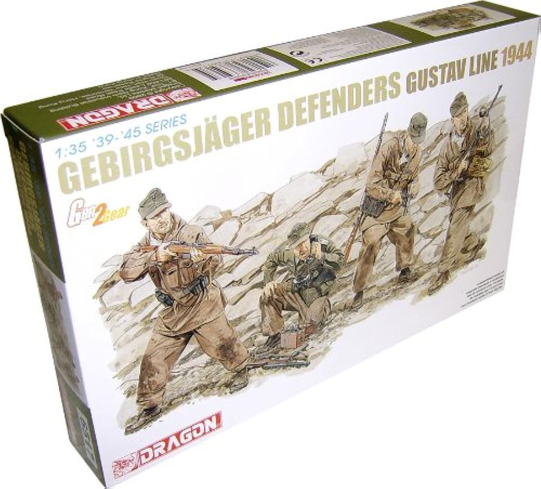 Dragon Models Usa 6517 1 35 Gebirgsjager Defense Gustav Line 1944, 6517