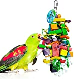 SunGrow かじれる鳥用玩具 木製ブロック