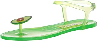 Katy Perry Women's The Geli Flat Sandal, Avocado, 7 Medium US
