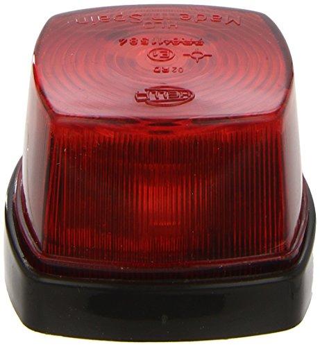 HELLA 2SA 003 057-021 Schlussleuchte - C5W - 12V/24V - Lichtscheibenfarbe: rot - Anbau - Einbauort: hinten links/hinten rechts/links/rechts