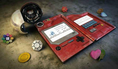 Pokemon Pokedex Playmat + Free RFG Standard Size Sleeves 75 Count