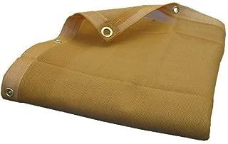 Heavy Duty Beige Desert Shade Net Mesh Tarp (10X24)