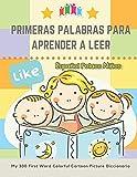 Primeras Palabras Para Aprender A Leer Español Polaco Niños. My 300 First Word Colorful Cartoon Picture Diccionario: Montessori. Ejercicios para ... del niño y prepararlo para la lectura