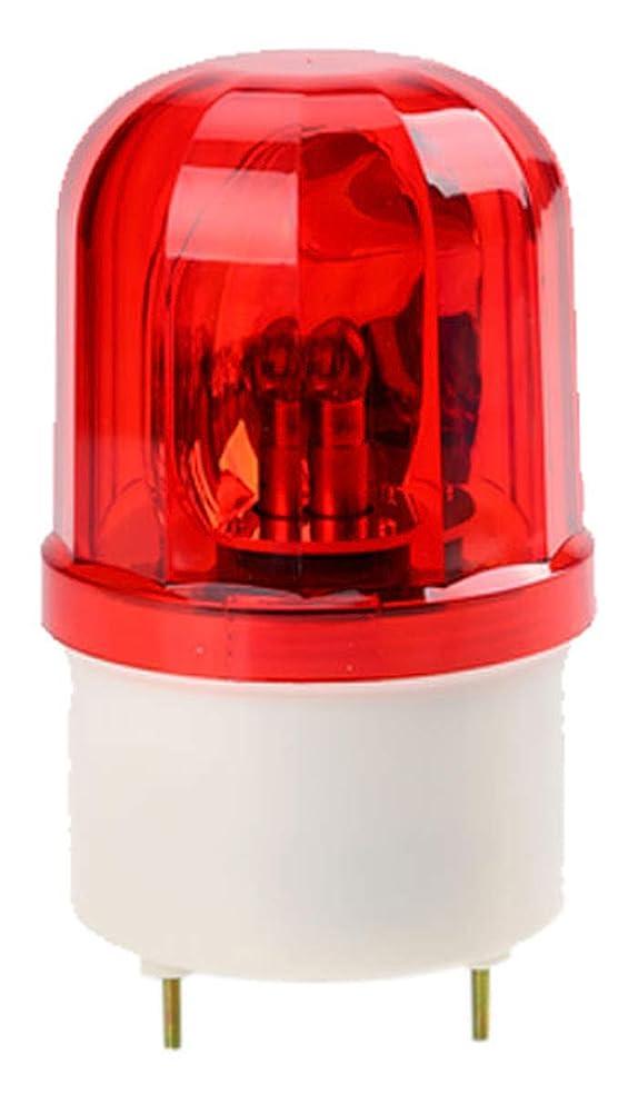 土器チャンピオンレンジNash 小型 パトランプ パトライト DC12V 回転灯 サイン灯 ネオンサイン 店頭 電球 ランプ 工場 工事 現場 防犯 防水 防災 車載 用品 レッド