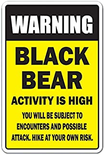 Best alaska bear warning sign Reviews