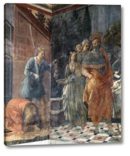 "The Beheading of John The Baptist by Fra Filippo Lippi - 20"" x 24"" Gallery Wrap Canvas Art Print - Ready to Hang"