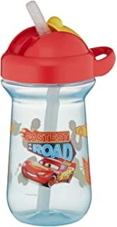 The First Years Cars 10oz Flip Top Straw Cup