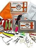 Vigilant Trails Survival Fishing, Hiking Gear, Bug Out Bag, Emergency Preparedness, Pocket Fishing, Stage-2