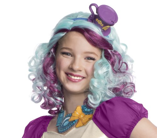 Rubie's officielle Ever After High Mattel Madeline Hatter perruque, enfants Costume – Taille Unique