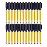 QWCZY 6.5'Flechas de Ballesta de Aluminio Pernos de Ballesta Flechas para 50lb / 80lb Pistola Ballesta Precisión Objetivo Practicar Tiro al Blanco Juego Caza,48 pcs