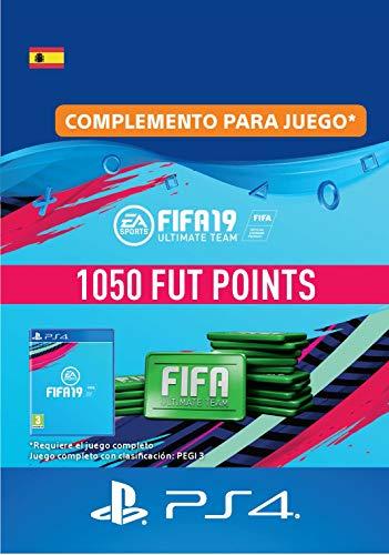 FIFA 19 Ultimate Team - 1050 FIFA Points | Código de descarga PS4 - Cuenta española