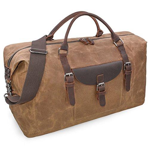 NEWHEY Reisetaschen Leder Bild