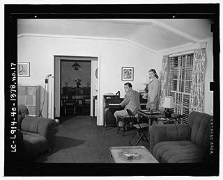 HistoricalFindings Photo: Lana Turner,Artie Shaw,Piano,Beverly Hills Home,Earl Thiesen,California,CA,1940