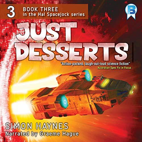 Just Desserts audiobook cover art