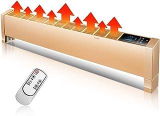 Radiador eléctrico MAHZONG 2200W Calentador de zócalo Inteligente Hogar Ahorro de energía Baño a Prueba de Agua