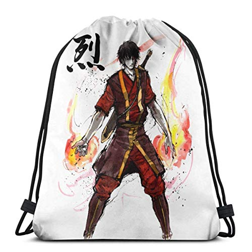 WH-CLA Drawstring Backpack The Last Airbender - Katara Outdoor Sport Anime Gym Women Unique Printed Travel...