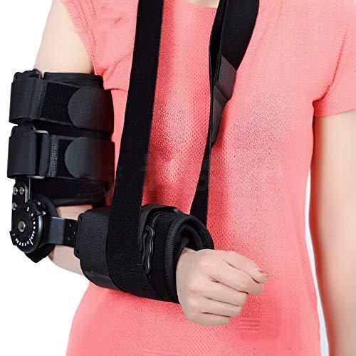 WY-Elbow Bisagras Cabestrillo Brazo - Férula para inmovilizador del Codo - Apoyo para el Codo para la tendinitis, Alivio para el Dolor del Codo - para Hombres, Mujeres