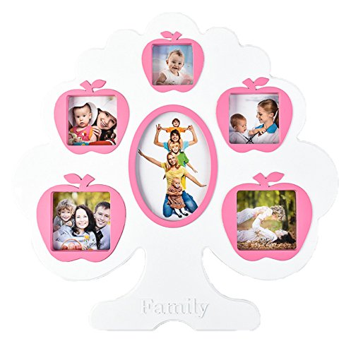 ARPAN Family Tree Style 6 Multi Aperture Photo Picture Frame - Gift Frame...