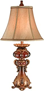 OK Lighting 31 in. Antique Brass Table Lamp