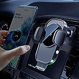 15W Qi Chargeur Induction Voiture,Chargeur sans Fil Voiture Rapide Automatic Clamping Porte Clip De...