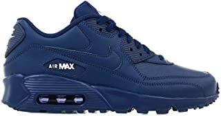 Nike 833412-412: Boy's Air Max 90 Midnight Navy/White (GS) Sneaker