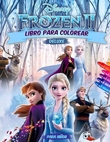 Frozen 2 Libro Para Colorear: Frozen II Libro Para Colorear Con De Alta Calidad Imágenes
