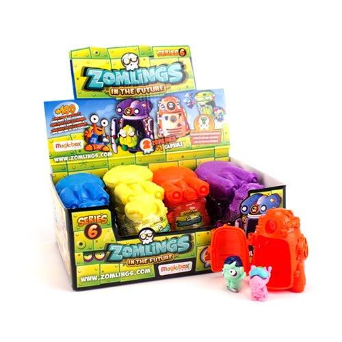 ZOMLINGS- Caja con 12 cápsulas, Serie 6 (Magic Box INT. Toys ZM6P0301)