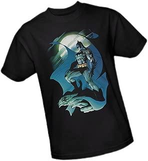 Glow Of The Moon -- Batman Adult T-Shirt