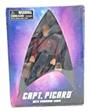 Star Trek: The Next Generation: 20th Anniversary Captain Picard in Chair Action...