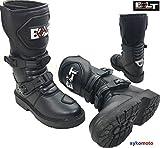 Bolt Bottes de moto Xk15 enfants MX Quad de ATV garçons et filles de juniors Des chaussures de sports (UK 4 / EU 37)