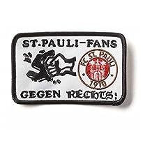 1.FC St. Pauli Aufnäher Motiv Gegen Rechts