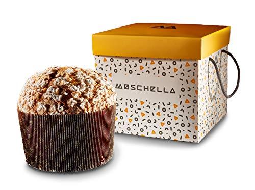 Schokoladen-Panettone, ohne Rosinen und kandierte Schale, mit Mandelglasur - 1kg