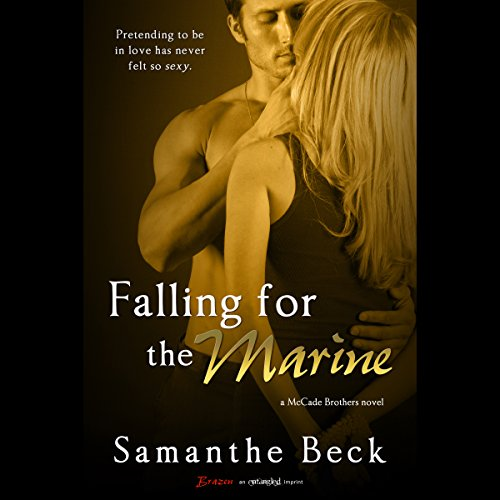 Falling for the Marine audiobook cover art