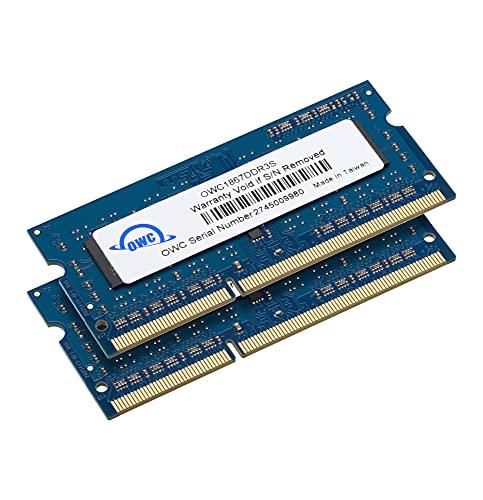 OWC 8 GB (2 x 4 GB) 1867 MHz DDR3 SO-DIMM PC3-14900 204-Pin-CL11-Speichererweiterung (OWC1867DDR3S08S)