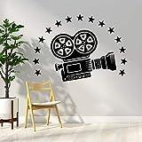 mlpnko Video Sticker Wall Decal Stickers Baby Room Home Decor Vinyle Art Stickers,CJX10289-28x39cm
