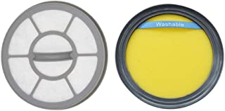 EZ SPARES 2Pcs Replacements for Eureka DCF25 & EF7 Filter Bundle for Fits SuctionSeal, Airspeed for 67600 Replaces Parts 67600 & 68657,Upright Vacuums Attachment Parts