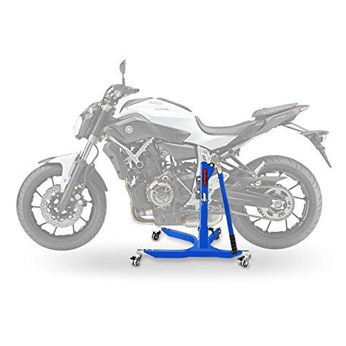 Preisvergleich Produktbild ConStands Power Classic-Zentralständer für Yamaha MT-07 13-20 Blau Motorrad Aufbockständer Heber Montageständer