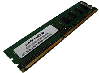 8GB DDR3 Memory Upgrade for Quanta STRATOS Motherboard S210-MBT2W PC3L-12800E 1600MHz ECC Low Voltage Unbuffered DIMM (PARTS-QUICK BRAND)