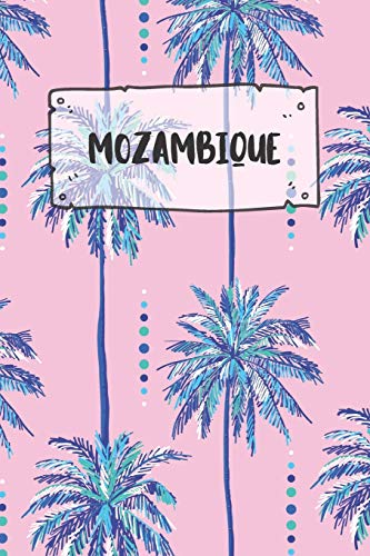 Mozambique: Dotted Travel Diary Notebook or Journey Dotted Grid Journal - Holiday Trip Pocketbook for Men and Women with Dots