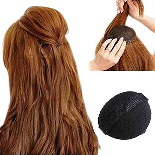 attachmenttou 2pcs Pad cheveux Décoration monter plus haut Femmes Filles cheveux accessoires auto-adhésif