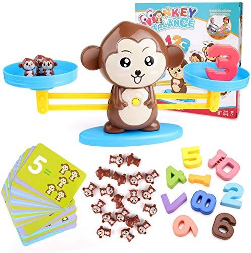 BBLIke Giocattoli Matematici - 65 pezzi Giocattoli di Attività per i Più Piccoli, per Conteggio Giochi di Matematica per bimbi 1-6 anni