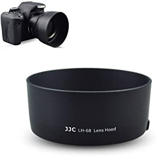 50mm Dedicated Reversible Lens Hood Shade Fit for Canon EF 50mm f/1.8 STM Lens Replaces Canon ES-68 Hood -Black
