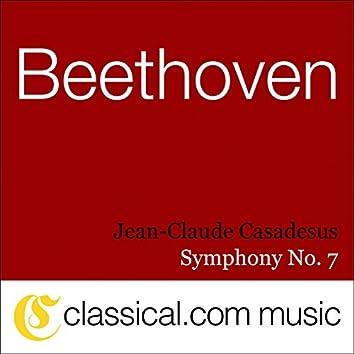 Ludwig van Beethoven, Symphony No. 7 In A, Op. 92